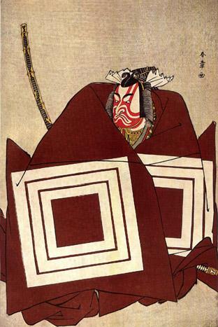 Katsukawa Shunsho: aktorius Ichikawa Danjuro